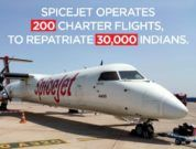 Spicejet charters 200 flights to repatriate 30,000 indians
