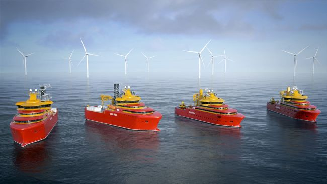 electric Voith Schneider Propeller will be delivered for four offshore supply vessels of the Norwegian shipping company Østensjø