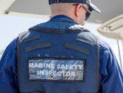 AMSA marine safety inspector