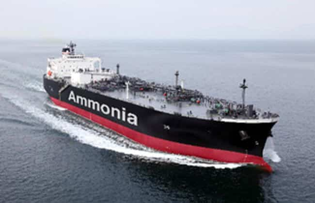 Ammonia-fueled Ammonia Gas Carrier (AFAGC)