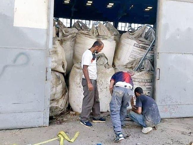 Ammonium nitrate Warehouse