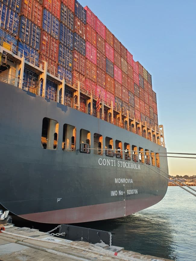 Australia Listing Towards Clogged Ports As Over-Contract Seafarers Stop Two New Ships_ conti stockholm