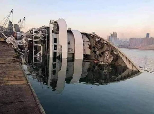 Beirut Blast Cruise Ship Orient