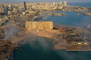 Beirut port after explosion photo - Sarah Abdallah