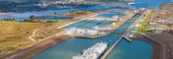Canal Panama 106 years