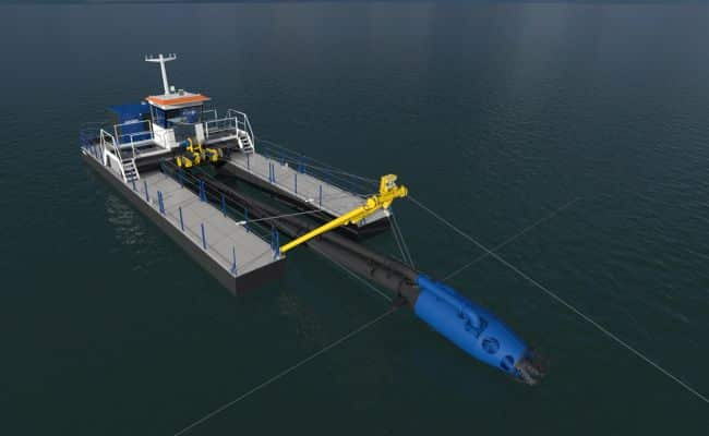 DOP becomes first locally built dredger in Argentina