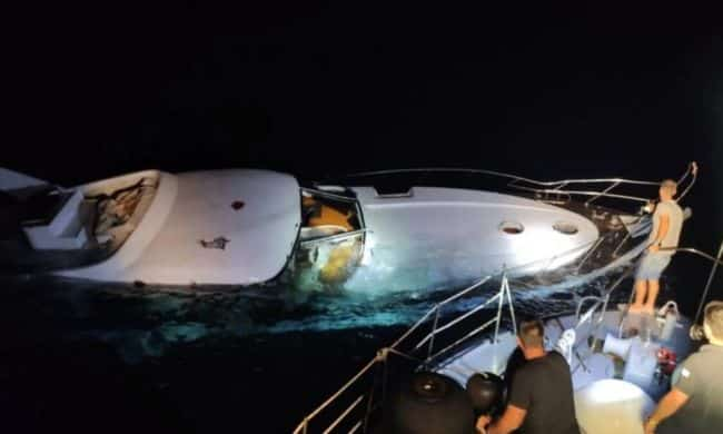 Greece Coast Guards Rescue 96 Migrants From Sinking Yacht Amid Turkey Tensions