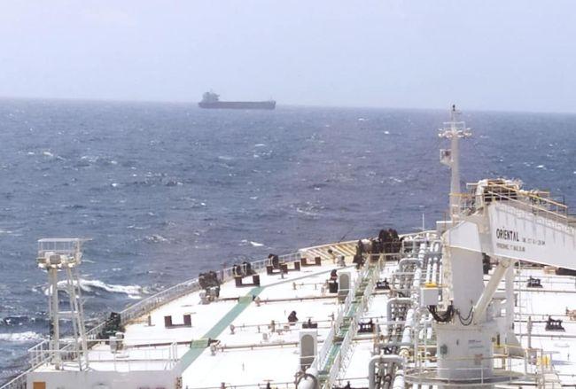 Greek-Flagged Ship Catches Fire In The Arabian Sea, One Sailor Dead