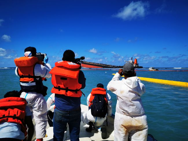 IMO Helping To Mitigate The Impacts Of Mv Wakashio Oil Spill In Mauritius