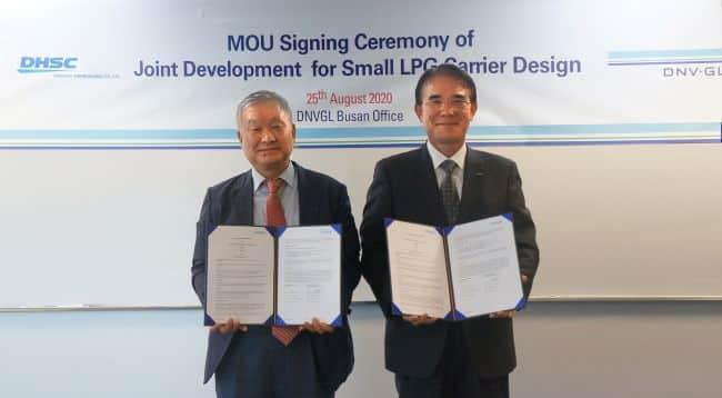 MOU signing 2020 DHSC