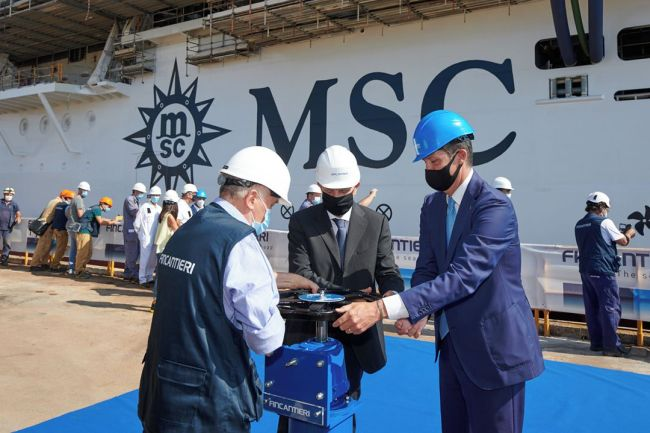 MSC Seashore Fincantieri float out_2