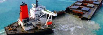 MV Wakashio Japanese cargo carrier mauritius oil spill