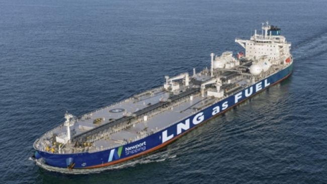 Newport Shipping LNG as fuel