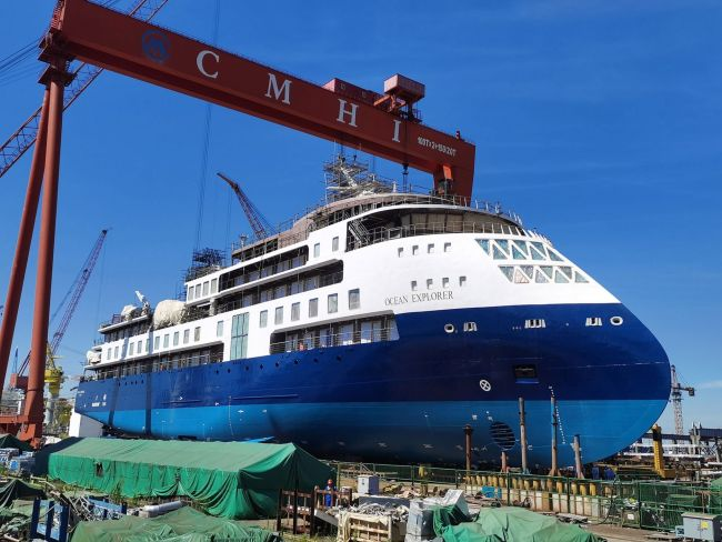 Ocean-Explorer-launching CMHI