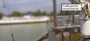 Premature Break Release Spills Two Crew into Water