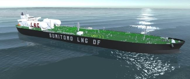 """Sumitomo Heavy Industries has been Granted an """"Approval in Principle"""" for a Medium-Size High-Pressure LNG Dual-Fueled Tanker"""