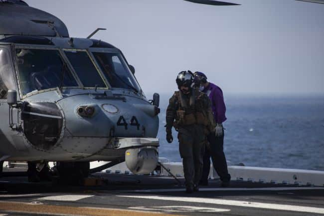 15th MEU, USS Makin Island conduct search and rescue operations