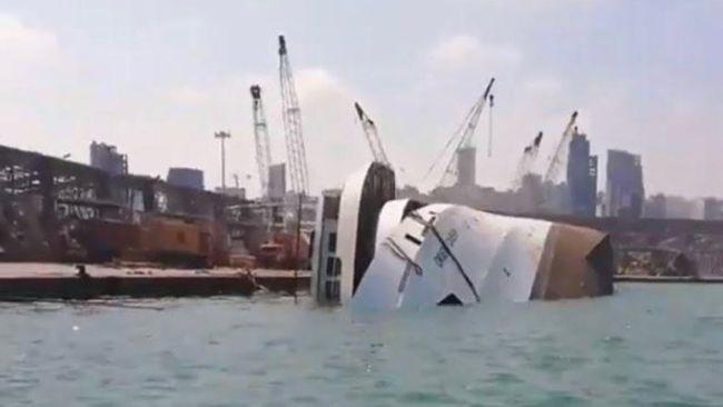 beirut orient cruise ship sinking