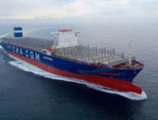 cma cgm tenere sea and gas trial