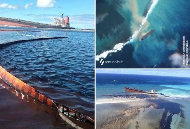 wakashio 2 mauritius cargo tanker japanese oil spill