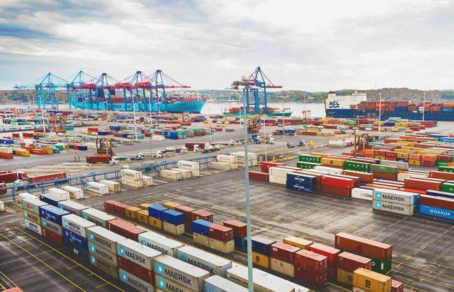 APM Terminals gothenburg growth