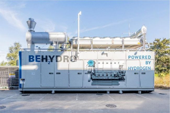 BeHydro launches the first hydrogen-powered dual-fuel engine with a capacity of 1 megawatt (MW) _