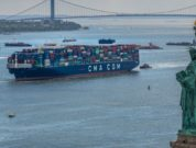 CMA CGM BRAZIL at port of new york and new jersey