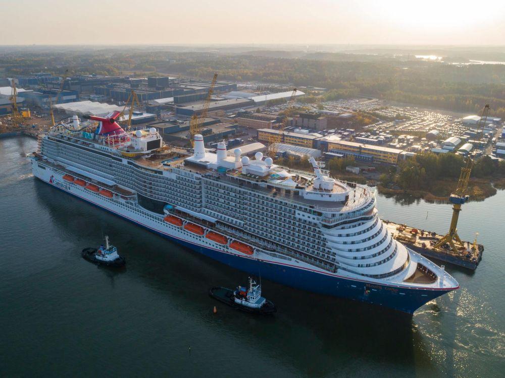 Carnival Mardi Gras Successfully Headed For Sea Trials