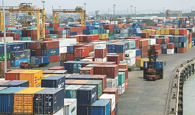 Chittagong Port representation Image