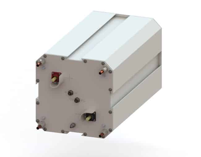 Germany Allows Hybrid Propulsion At The Highest Safety Level Self-Supporting LFP Battery System _MODUL_ISO_FRONT_CUT_NO SHADOW