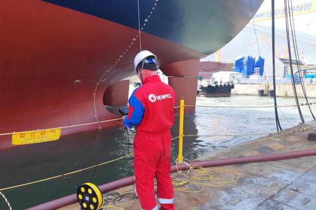 Hempel Launches Underwater Hull Inspections Powered By ROVs