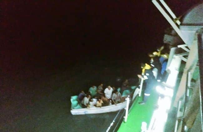 Indian coast guard rescues 12 crew members from sinking ship - 3