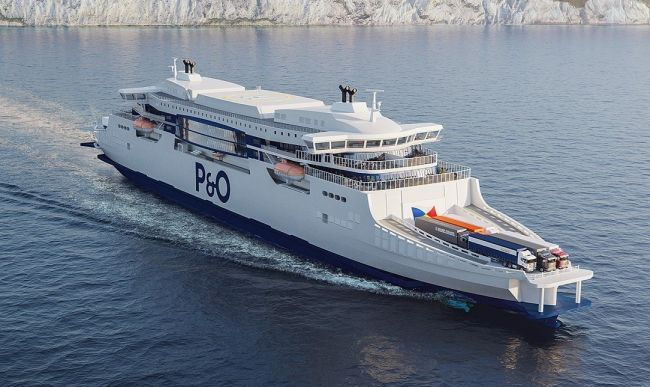 PO super ferries design