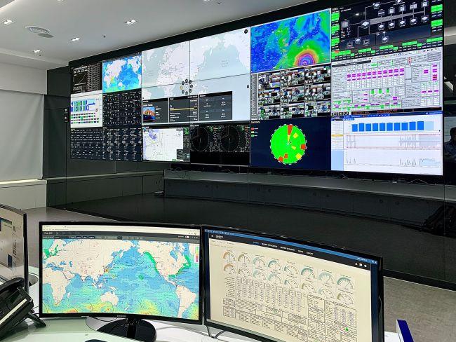 HMM Opens Fleet Control Centre _ Fleet Control Centre