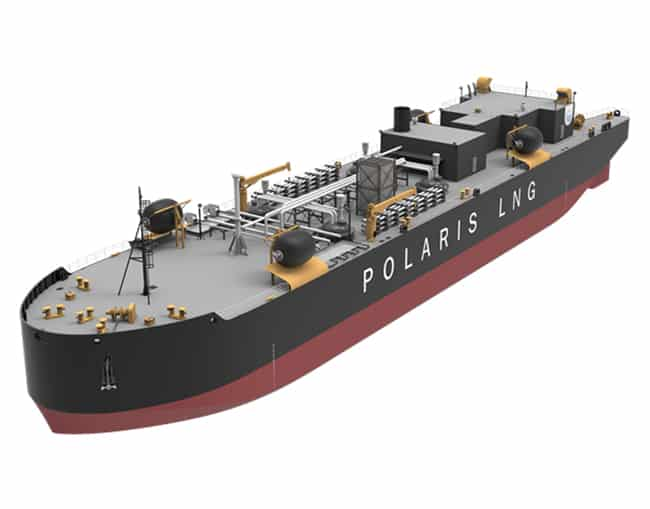 Polaris-LNG-Bunkering-barge.-The-four-cargo-tanks-will-be-installed-below-deck.-Only-the-domes-will-be-visible-after-finished-installation