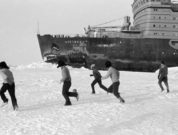 Russia's New Nuclear Icebreaker- World's Largest Is Embarking On Arctic Voyage - Arktika - in arctic football