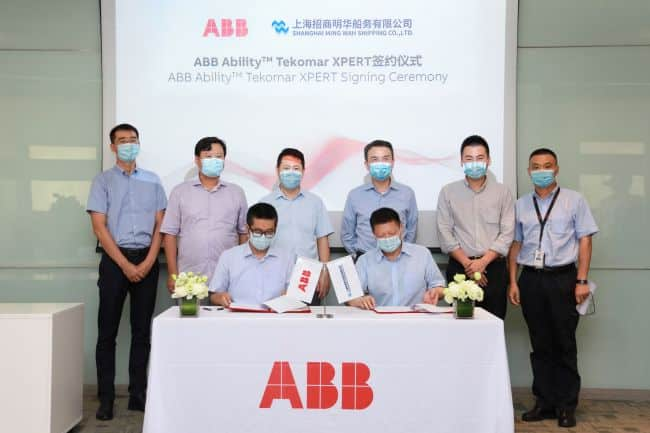 Shanghai Ming Wah installs ABB Ability™ Tekomar XPERT fleetwide after fuel savings