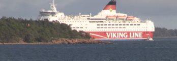 Viking Line Amorella Aground