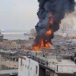 beirut port fire september 10th