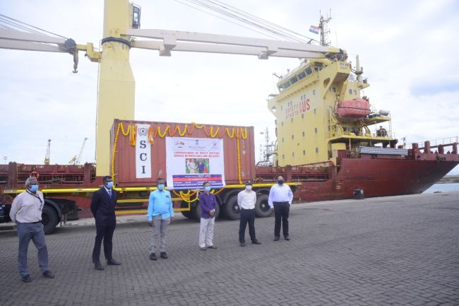 direct cargo service started between india and maldives