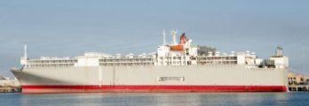 livestock ship representation