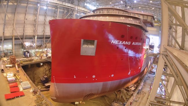 paint bow part Nexans Aurora