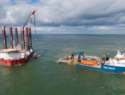 tennet-launch-deepdigit - Submersible robot buries power cables for offshore wind farms 5.5 metres below seabed