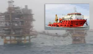 124-rescued-ship oil-rig-collision-1-dead - Dayang Topaz