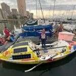 Solo Ocean Rower Lia Ditton Returns To The Ocean Post Recovery From Record 86 Days Alone At Sea