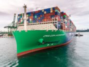 CMA CGM Jacques Saade Sets World Record