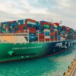 Photos: CMA CGM Jacques Saade Sets World Record For Number Of Full Containers Loaded On Single Vessel