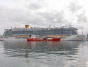 Costa Smeralda LNG Bunkering Carnival Cruise line