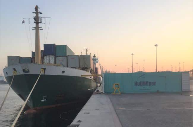 HullWiper Launches Self-Contained Hull Cleaning Container