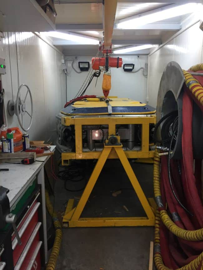 HullWiper Launches Self-Contained Hull Cleaning Container_Workshop Overview